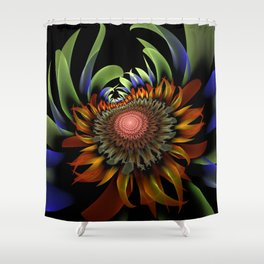Centauri Sunflower Shower Curtain