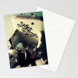 Wash Yr Hands Stationery Cards