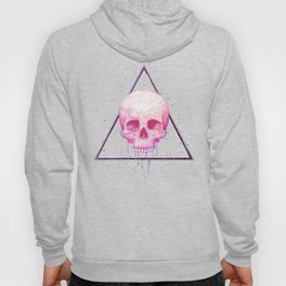 Skull in triangle on black Hoody