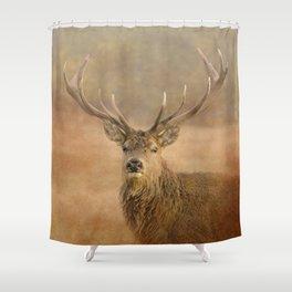 Autumn Stag Shower Curtain
