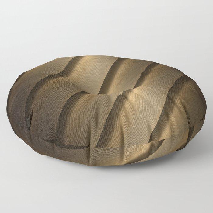Copper Brass Metal Pipe Floor Pillow