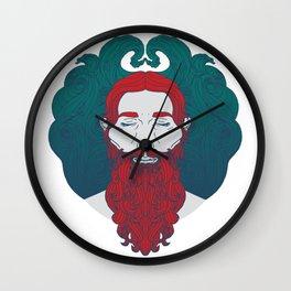 Lir - God of the sea Wall Clock