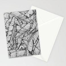 Black & White Jungle #society6 #decor #buyart Stationery Cards