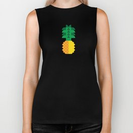 Fruit: Pineapple Biker Tank