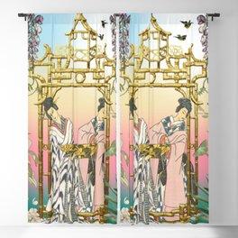 Geishas at the Gate Blackout Curtain