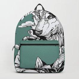 Vintage wolf Backpack