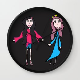 Lalala | Elisavet and Sofia Wall Clock