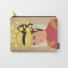 Traditional Bride Carry-All Pouch