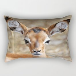 Very young Impala - Africa wildlife Rectangular Pillow