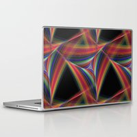 triangles Laptop & iPad Skins featuring Triangles by David Zydd