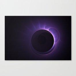 Amethyst Eclipse Canvas Print