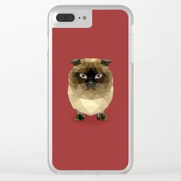 Simba the Cat Clear iPhone Case