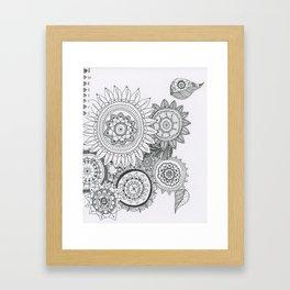 Kayla's Mandalas Framed Art Print