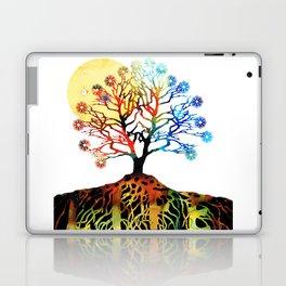 Spiritual Art - Tree Of Life Laptop & iPad Skin
