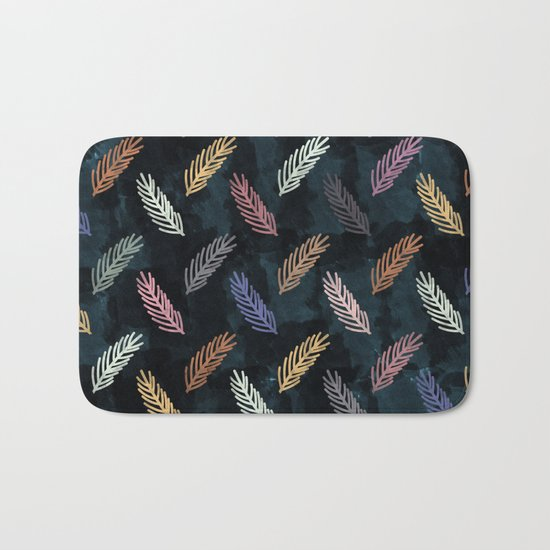 Lovely Pattern CI Bath Mat