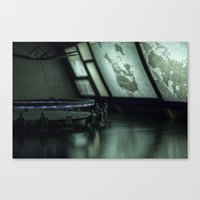 military Canvas Prints featuring Military by gustav butlex