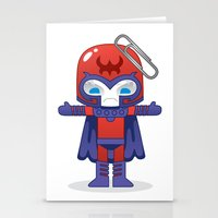 magneto Stationery Cards featuring MAGNETO ROBOTIC by We Are Robotic