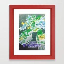 The Headmasters / Fortress Maximus Framed Art Print