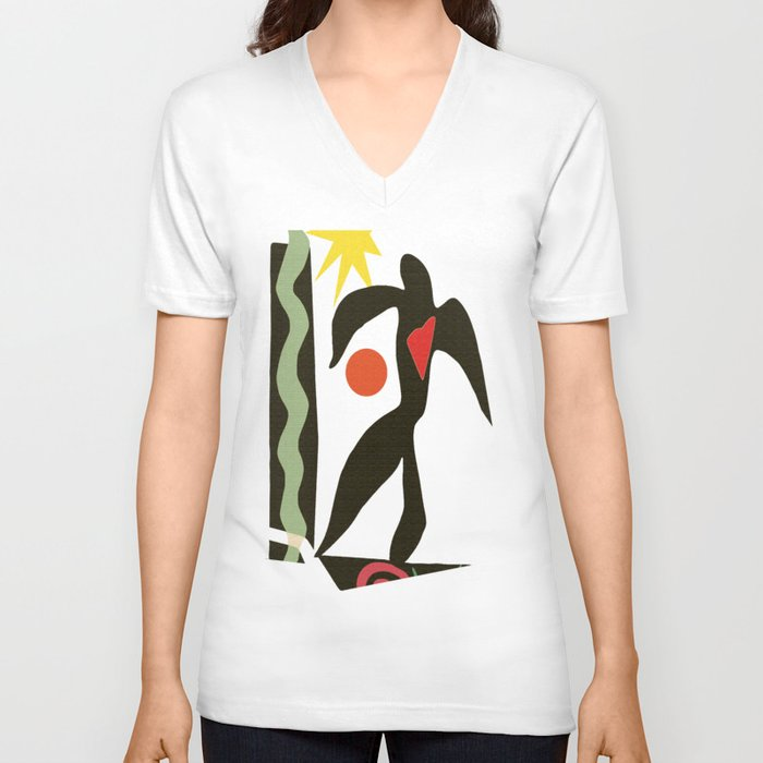 Inspired to Matisse (vintage) Unisex V-Neck