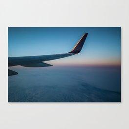 Sunrise in the Clouds Canvas Print
