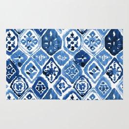 Arabesque tile art Rug