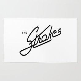 the strokes Rug
