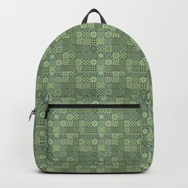 Green Valley Quilt Backpack
