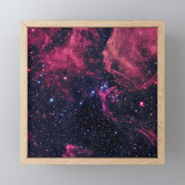 Supernova Remnant Framed Mini Art Print