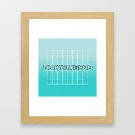 KYUNGSOO 2 Framed Art Print