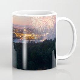 City Day closing, 121 years to Novosibirsk Coffee Mug