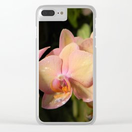 Orchids 4 Clear iPhone Case