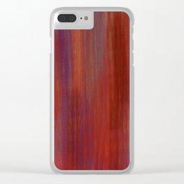 Majestic Streaks Clear iPhone Case