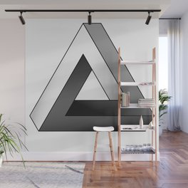 Impossible Triangle Wall Mural