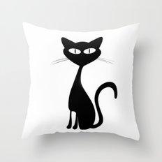 Kitten II Throw Pillow
