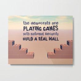 Build A Real Wall Metal Print