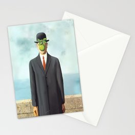 The Apple man Stationery Cards
