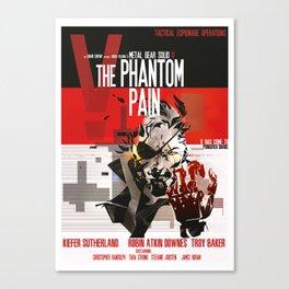 Phantom - Metal Gear  Canvas Print