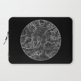Black Riptide Laptop Sleeve