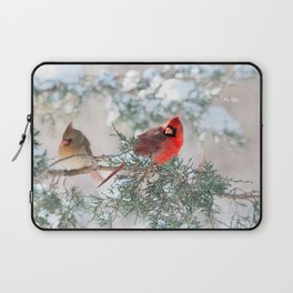 Remembering.... (Northern Cardinals) Laptop Sleeve