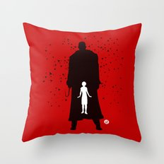 Candyman (Red Collection) Throw Pillow