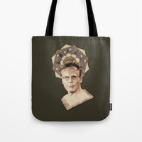 ben giles Tote Bags featuring Giles by mycolour