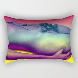 """Kinky Mother Earth"" by Nacho Dung Rectangular Pillow"