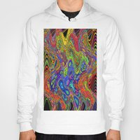 psychedelic Hoodies featuring Psychedelic by Frankie Cat