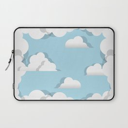 Clouds chasing - paper cut series -  Laptop Sleeve