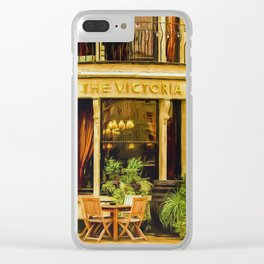 The Victoria Clear iPhone Case