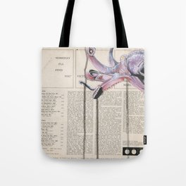 His Master's Voice - The Octopus Tote Bag