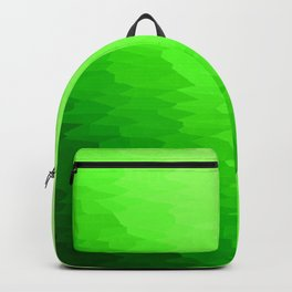 Green Texture Ombre Backpack