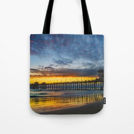 Colors in the Sand Tote Bag