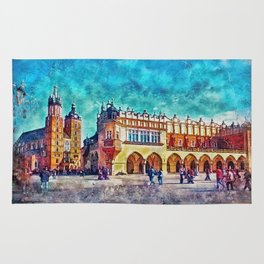 Cracow Main Square Rug