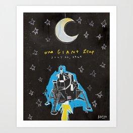 One Giant Leap Art Print